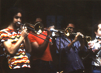 The Gil Evans' Horn Section